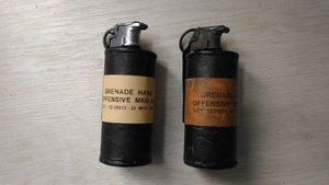 攻撃型手榴弾MkIIIA1